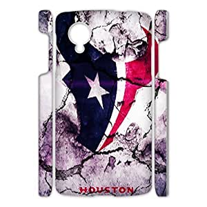 Houston Texans 22 Sports Team Phone Protector Google Nexus 5 3DCase Cover Shell (Laser Technology)