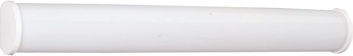 B00084TXM4 Progress Lighting P7095-30EB Traditional Two Light Linear Fluorescent Bath Collection in White Finish, 37-5/8-Inch Width x 4-3/4-Inch Height 51pJjdUOzFL.SL1200_