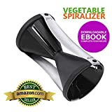 : Amazing Vegetable Spiralizer - 124 Vegetable Spiralizer with Stainless Steel Blades