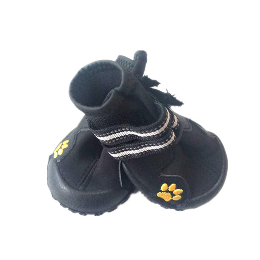 BLACK 5 BLACK 5 SENERY Pet Dog shoes Boots,Sport Pet Outdoor Rain Boots Non Slip Puppy Running Sneakers Waterpoof Boots Pet Accessories