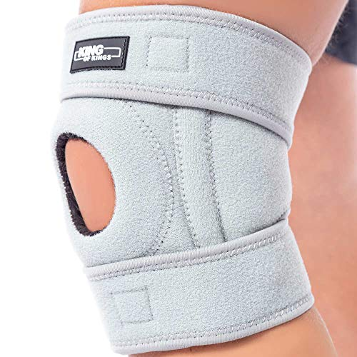 Patella Stabilizing Knee Brace for Women, Men, Meniscus Tear, Arthritis Pain and Support, Acl, Running, Mcl, Tendonitis, Runners, Athletic, Stabilizer, Lcl - Adjustable Neoprene Knee ()