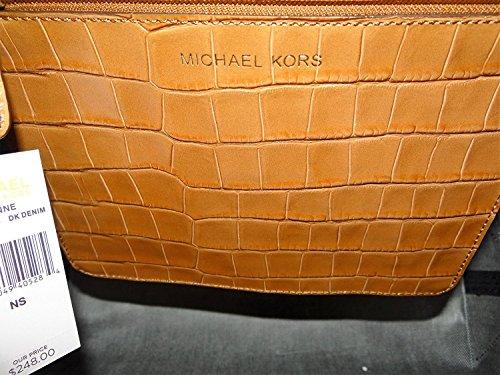 Michael Kors Sac de Plage DK Denim Size Bleu Toile L 49*31*15cm Neuf