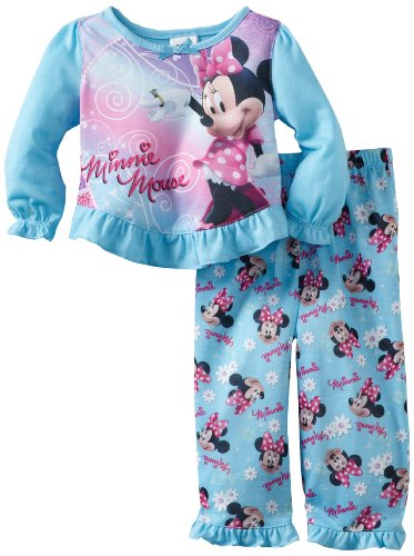 Disney Baby Girls' Minnie In Poka Dots 2 Piece Set
