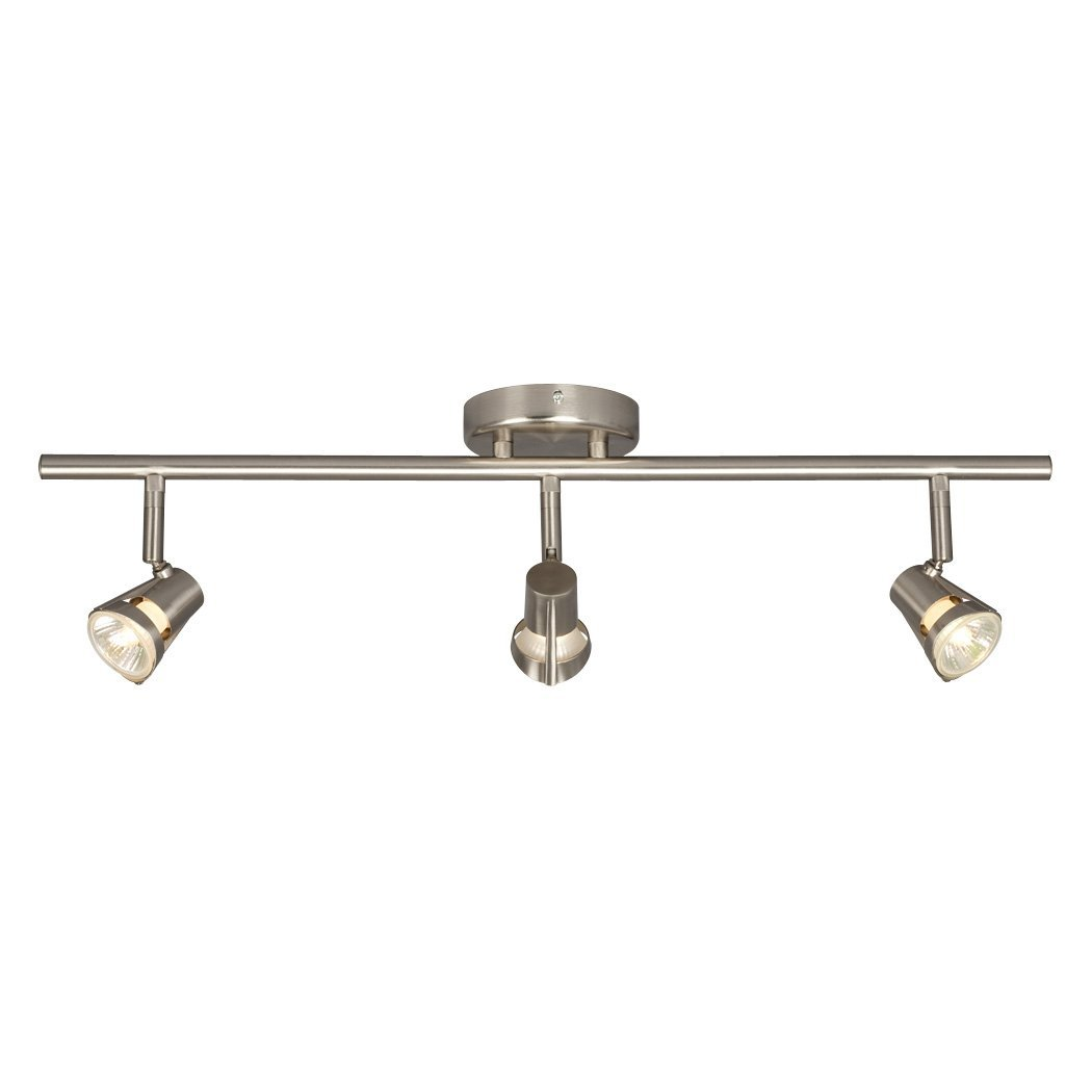 Galaxy Lighting 755593BN 3 Light Halogen Fixed Track Lighting