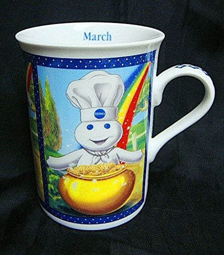 Vintage The Pillsbury Doughboy DANBURY MINT Month of March