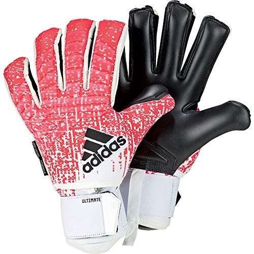 adidas Predator FINGERSAVE Ultimate Goalkeeper Gloves with Finger Protection and Wrist Support for Soccer