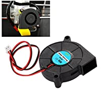 UEETEK 3D Printer Cooling Fan DC 12V for Cooler Heatsinks Black by UEETEK
