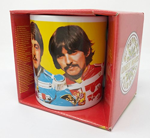 Beatles Portrait - The Beatles Portrait Sgt. Peppers Lonley Hearts Club Band Coffee Mug in Gift Box