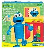K'Nex Kid Sesame Street Cookie Monster and Hooper's Store Building Set