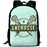 ZQBAAD Lacrosse Luxury Print Men And Women's Travel Knapsack