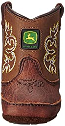 John Deere JD0342 Pull-On Boot (Infant/Toddler), Mesquite Leather, 0 D US Infant