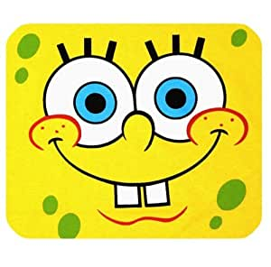 Rectangle Cloth Mousepad with SpongeBob Logo for Film Fans by icecream design