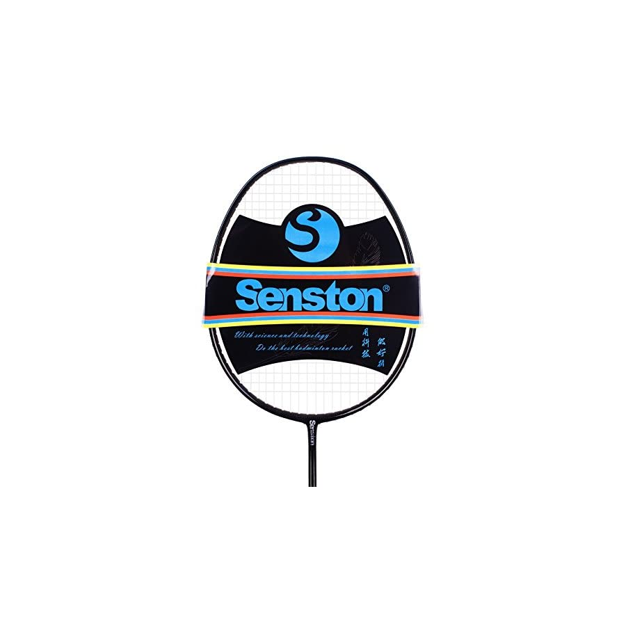Senston WOVEN Full carbon Single High grade Badminton Racquet,Badminton Racket,Including Badminton Bag
