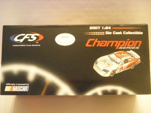 CFS Champion Series 2007 1:24 Scale Diecast White/Red Dodge Charger #07