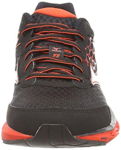 MizunoWave Inspire 11 - Zapatillas de running hombre Multicolor (black/silver/orange.com)