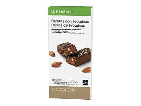 Barritas con proteinas (Vainilla con Almendras)
