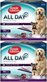 Simple Solution All Day Premium Lavender Dog Pads, 23x24 200ct (2 x 100ct)
