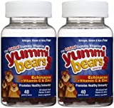 Cheap Yummi Bears Echinacea with Vitamin C & Zinc Gummies – Fruit Flavor – 80 ct – 2 pk