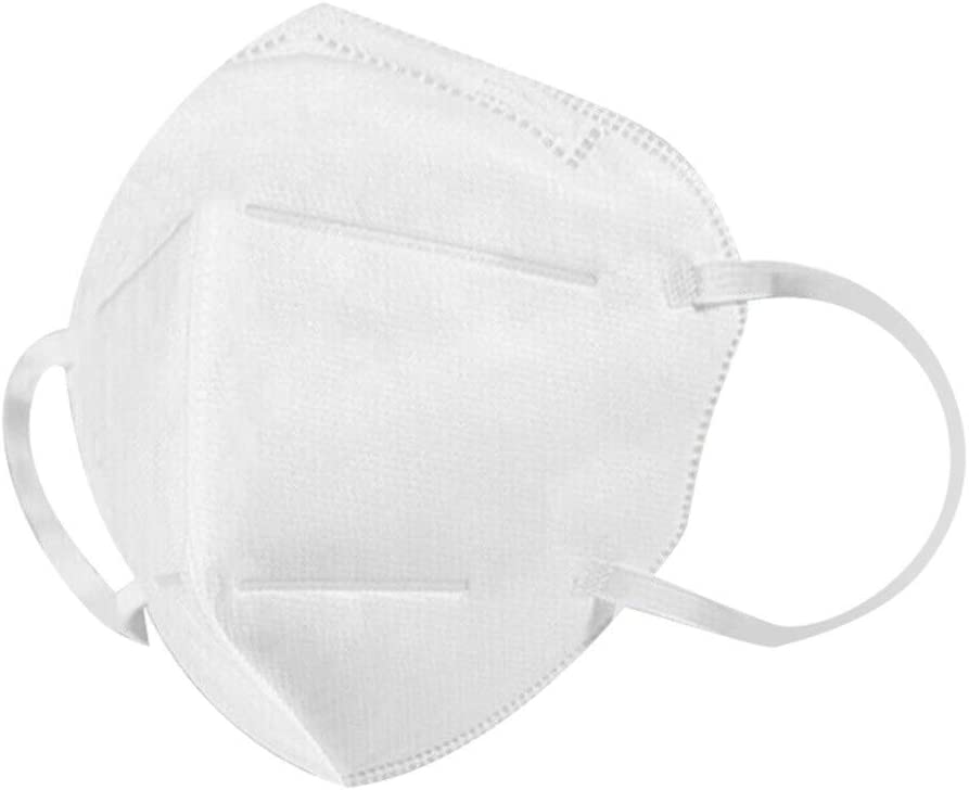 GUNGUN Máscara reutilizable sin máscara de válvula, 20 Mascarilla Plegable con Filtro 3 Mascarilla Antipolvo Autofiltrante Máscara de Respiración Protección Mascarilla de Seguridad