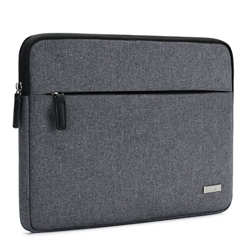 DOMISO Canvas Shockproof 14 Inch Laptop Sleeve Tablet Protec