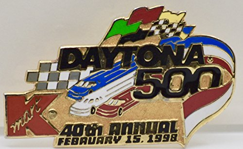 - 1998 - Kmart/40th Annual Daytona 500 - February 15, 1998 Pin - Hat or Lapel - Collectible