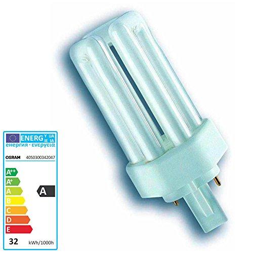OSRAM Lampe fluorescente compacte DULUX T Plus 840, 26 Watt