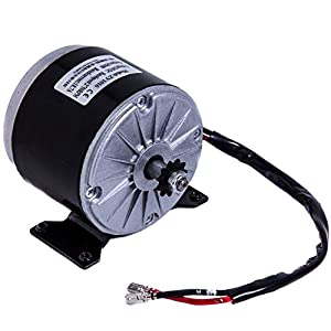 24 volt 250 watt MY1016 Electric Motor Includes an 11 Tooth #25 Chain Sprocket