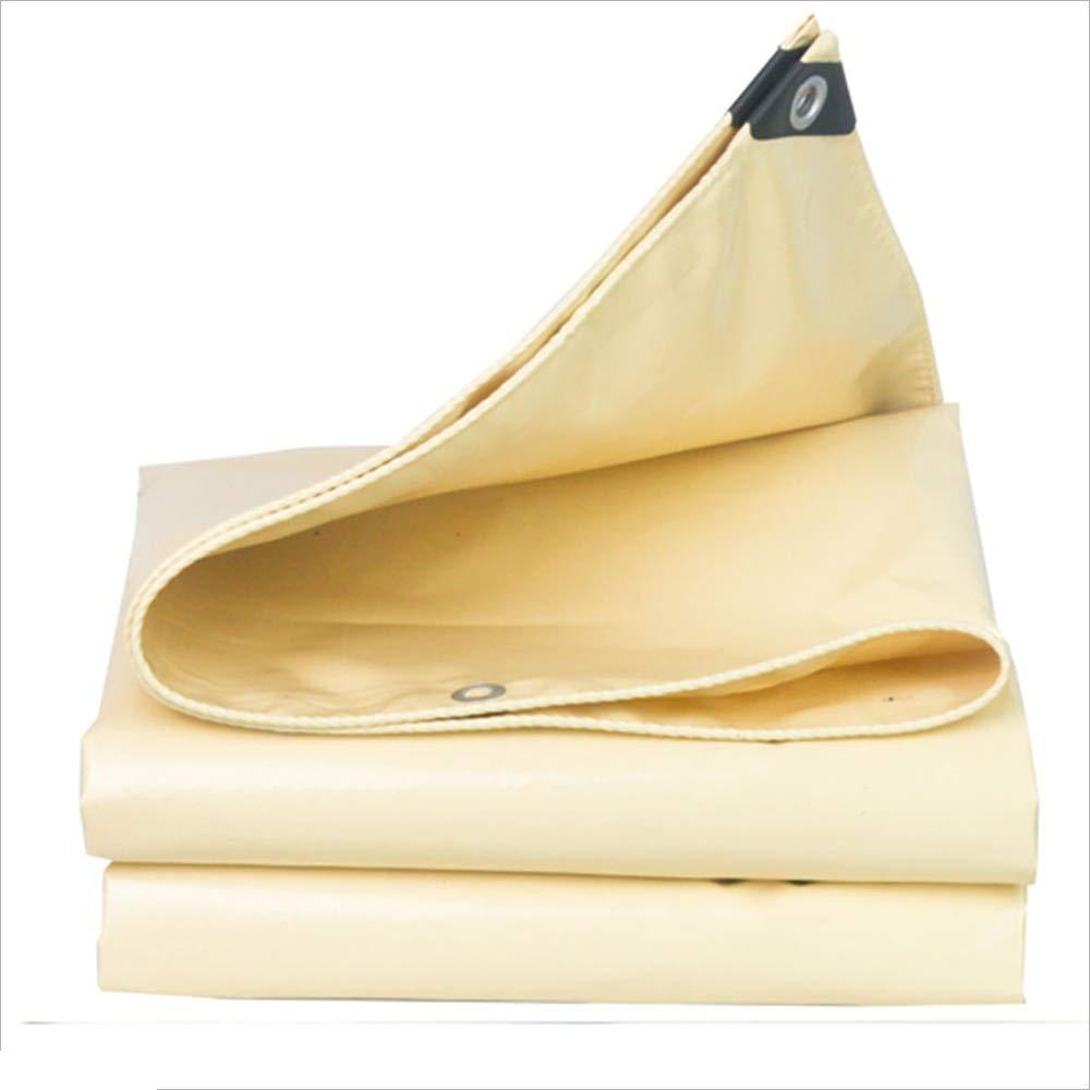 MSNDIAN Telone Impermeabile telone Isolante per Tende solari per Esterno   Crepe di Stoffa di plastica incerata Articoli Sportivi all'aperto (Dimensioni   6x7m)