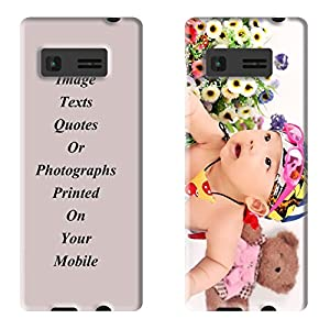 FCS UV Printed Designer Personalized, Photo, Customized Soft Silicon Back Case Cover for Jio Lyf 4G Smart Phone Get Your Photo, Image, Text Or Quote Printed …