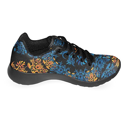 InterestPrint Damen Jogging Running Sneaker Leichtes Leicht Gehendes Leichtes Komfort Sport Laufschuhe Multi 6