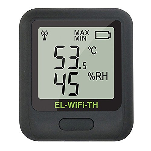Image of Data Loggers Lascar Electronics EL-WIFI-TH Wireless Temperature/RH Data Logger