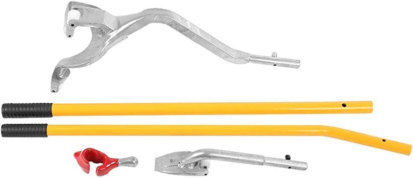 Aluminum Tire Changer Tools Tubeless Truck Bead with Extra Bead Keeper Qiilu Stark Tire Mount Demount Tool