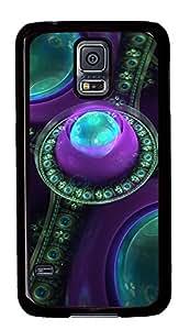Samsung Galaxy S5 Beautiful Fractal Gems PC Custom Samsung Galaxy S5 Case Cover Black