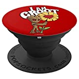 Marvel I AM GROOT Daisy Flower Valentine's - PopSockets Grip and Stand for Phones and Tablets