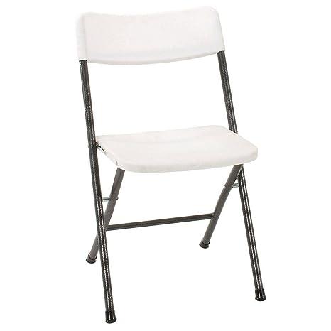 Amazon.com: Compacto silla plegable con asiento moldeado y ...