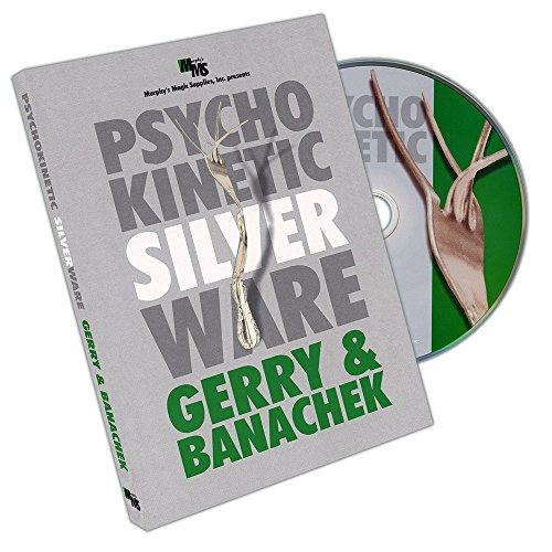 Murphy's Magic Psychokinetic Silverware by Gerry and Banachek - DVD