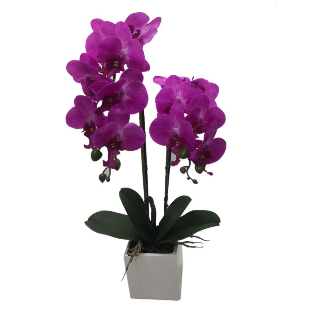 fleur Artificiel Décoration de la Maison Bureau Décoration Florale orchidée