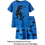 IF Pajamas Little Boys Pajamas 100% Cotton Blue Pjs Clothes Kid 6