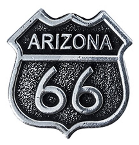 (New-Spin Arizona Route 66 Pewter Hat Pin)
