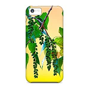 High-quality Durable Protection Case For Iphone 5c(branch With Leaves Hd Great Picture Beautiful)