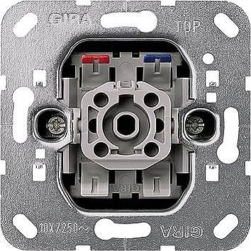 GIRA System 55 reinwei/ß gl/änzend Schalter /& Steckdosen