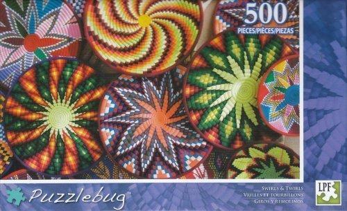 Puzzlebug 500 - Swirls & Twirls by Grünbrier Intl