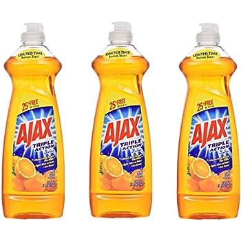 Amazon com: Ajax Super Degreaser Dish Liquid-Lemon - 12 6 oz: Health