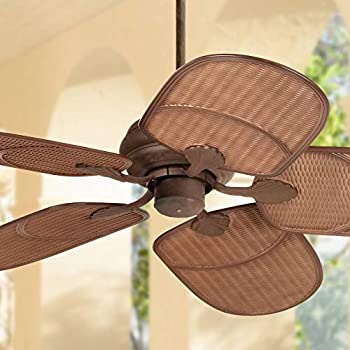 60 Quot Oak Creek Tropical Outdoor Ceiling Fan Oil Rubbed