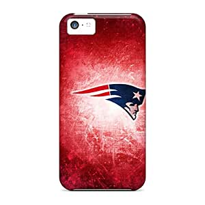 Jamescases Iphone 5c Hybrid Tpu Case Cover Silicon Bumper New England Patriots