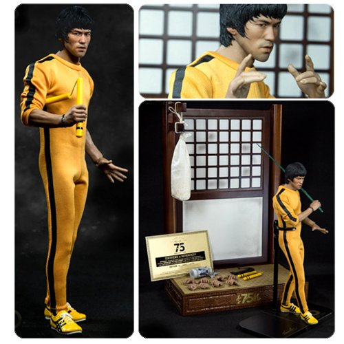 Bruce Lee 75th Anniversary 1:6 Scale Real Masterpiece Action Figure ()