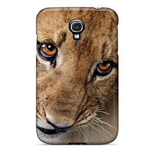 Top Quality Case Cover For Galaxy S4 Case With Nice Cute Lion Appearance