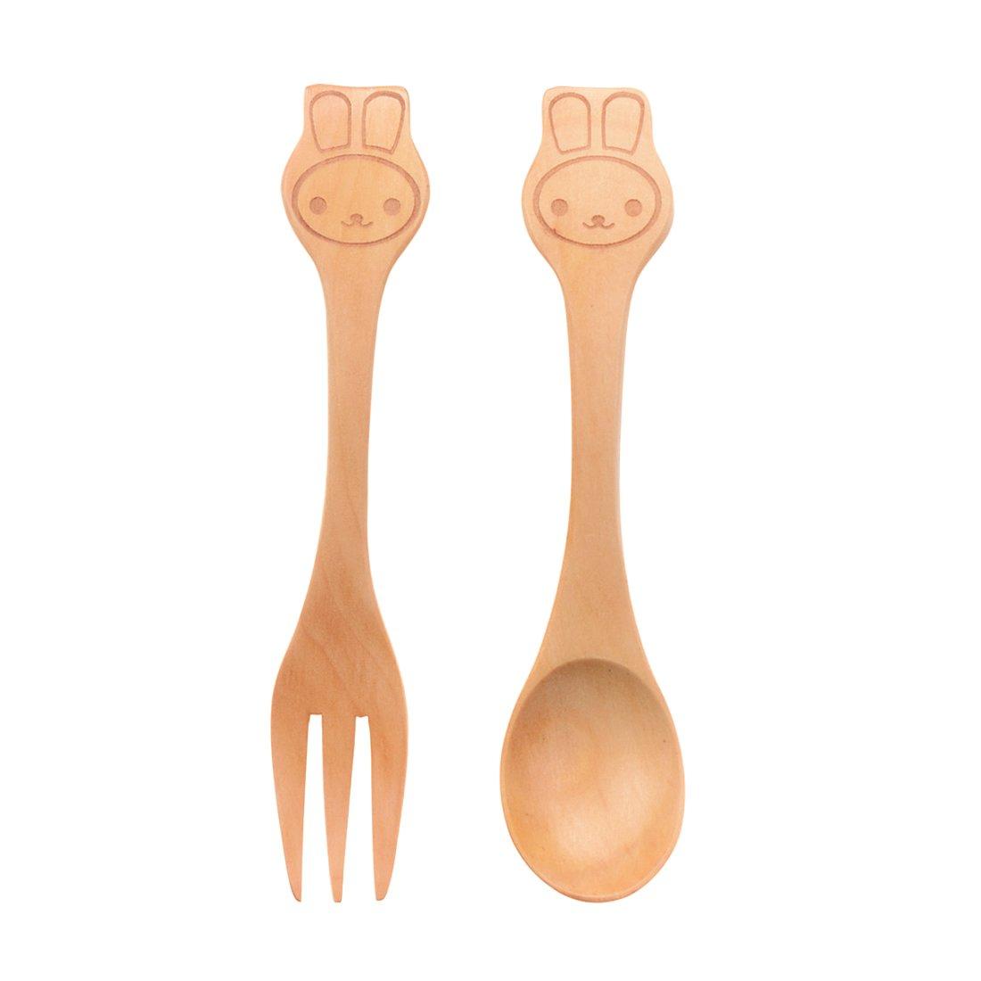 Amazon.com : Daisy Happy Natural Bamboo Baby Feeding Set 3pcs ...