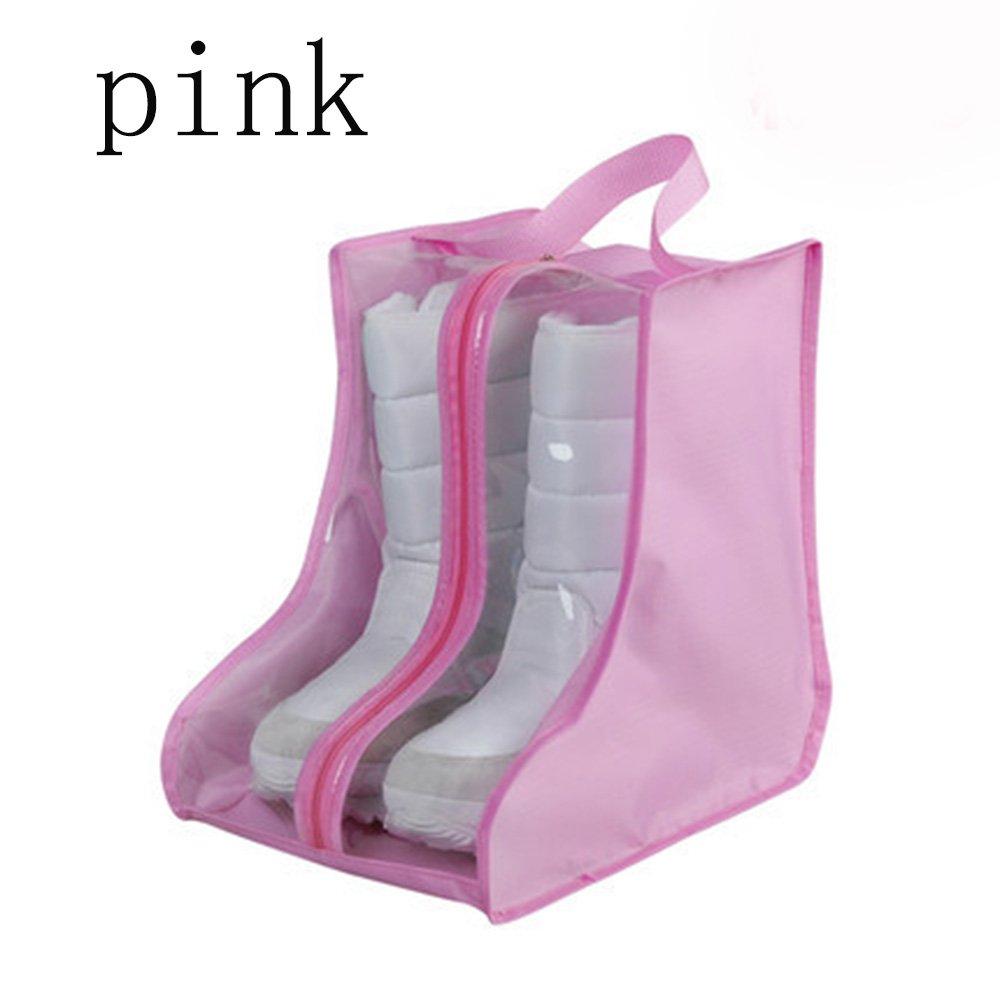 CHRISLZ 4 pack Shoes Bag Anti-dust Waterproof Shoes Bag red wine