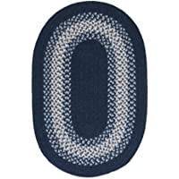North Ridge Rug, 2 by 3-Feet, Navy